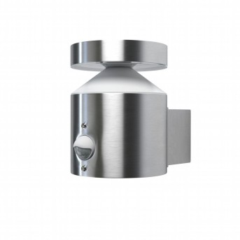 LEDVANCE ENDURA Outdoor Wall Light stainless steel, 1-light source, Motion sensor