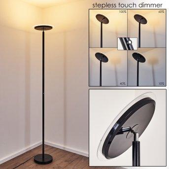 WONSBEK Floor Lamp LED black, 1-light source