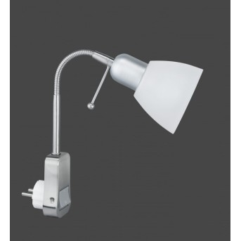 Trio 8901 plug-in light matt nickel, 1-light source