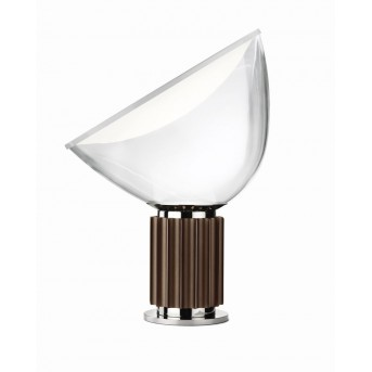 FLOS TACCIA Table Lamp LED brown, 1-light source