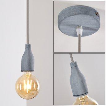 Borex Pendant Light grey, 1-light source