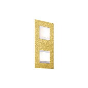 Grossmann BASIC Wall and Ceiling Light LED brass, 2-light sources
