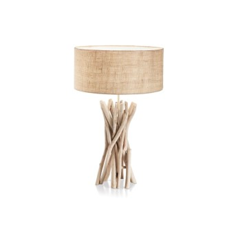 Ideal Lux DRIFTWOOD Table Lamp Light wood, 1-light source