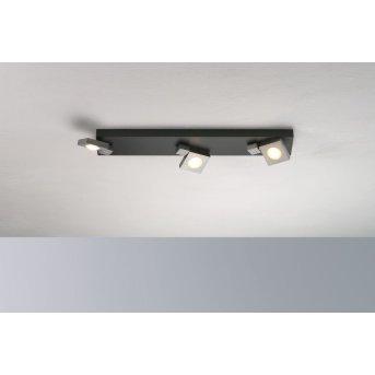 Bopp Flash Ceiling Light LED black, anthracite, 3-light sources