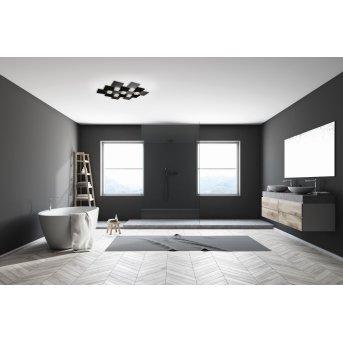 Grossmann CREO Ceiling Light LED black, 7-light sources