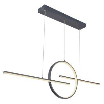 Globo BARRAL Pendant Light black, 1-light source
