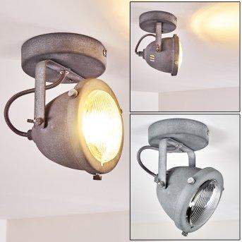 GLOSTRUP Ceiling Light LED grey, 1-light source