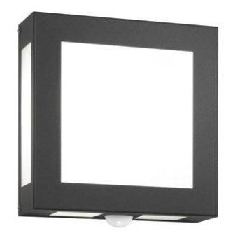 CMD AQUA LEGENDO Outdoor Wall Light anthracite, 1-light source, Motion sensor
