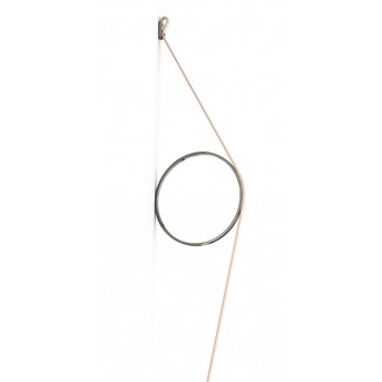 FLOS WIRERING Wall Light LED pink, 1-light source