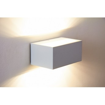 Lutec by Eco Light outdoor wall light LED white, 1-light source