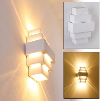 Tokio wall light white, 1-light source