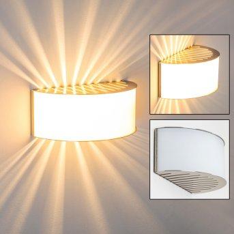 PESARO Wall Light matt nickel, 1-light source