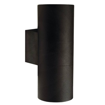Nordlux TIN Outdoor Wall Light black, 2-light sources