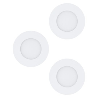 Eglo FUEVA recessed light LED white, 3-light sources