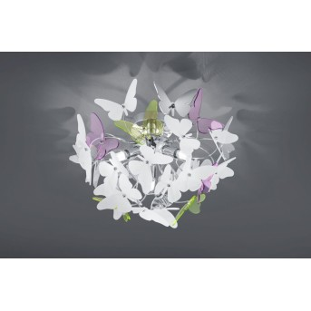 Reality BUTTERFLY Ceiling light chrome, 3-light sources