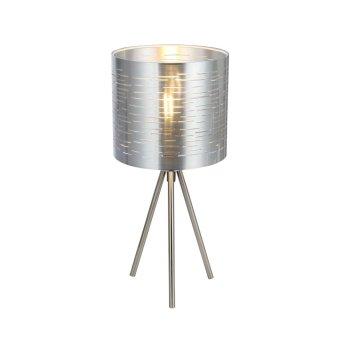 Table Lamp Globo MURCIA matt nickel, 1-light source