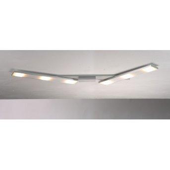 BOPP SLIGHT ceiling light LED aluminium, 6-light sources