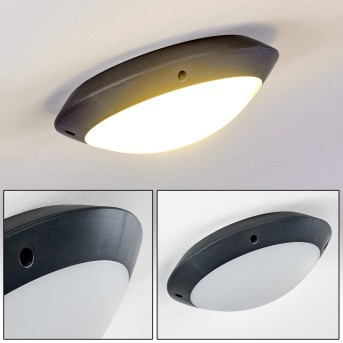 Grafton outdoor ceiling light anthracite, 1-light source