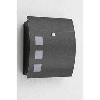 CMD letterbox anthracite