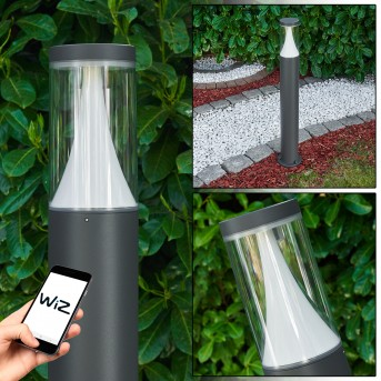 Calella path light LED anthracite, 1-light source, Colour changer