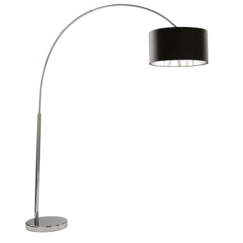 Floor Lamp Searchlight ARCS chrome, 1-light source