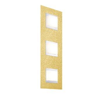 Grossmann BASIC Wall and Ceiling Light LED brass, 3-light sources