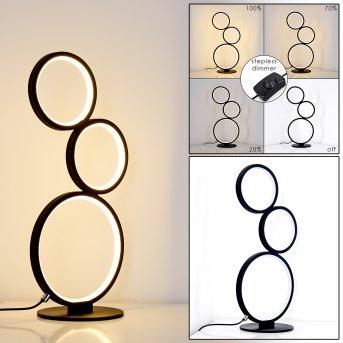 RODEKRO Table Lamp LED black, 1-light source