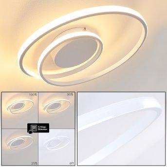 Leksund Ceiling Light LED white, 1-light source