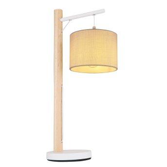 Globo RAFA Table lamp brown, white, 1-light source