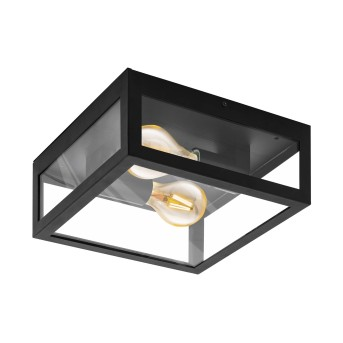 Eglo AMEZOLA Wall and Ceiling Light black, 2-light sources