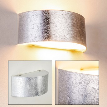 Lesina M Wall Light silver, 2-light sources