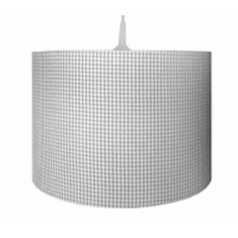 Waldi Vichy pendant light grey, 1-light source