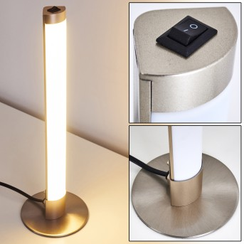 WILA Table Lamp LED matt nickel, 1-light source