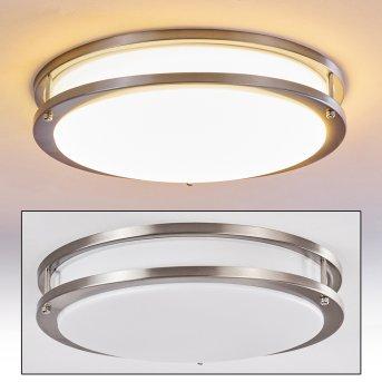 SORA Ceiling light LED matt nickel, 1-light source