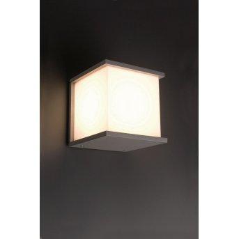 Faro Kubick outdoor wall light grey, 1-light source