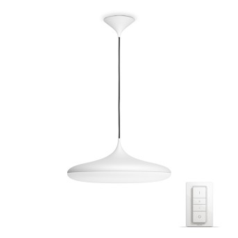 Philips HUE AMBIANCE WHITE CHER Pendant Light LED white, 1-light source, Remote control