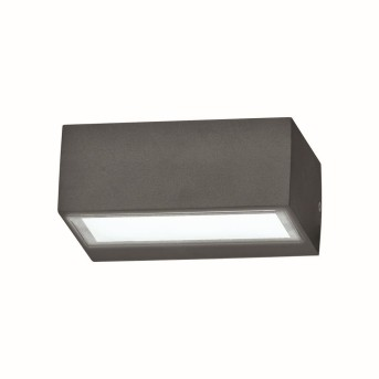 Ideal Lux TWIN Outdoor Wall Light anthracite, 1-light source