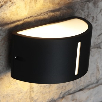 Lutec BONN outdoor wall light anthracite, 1-light source