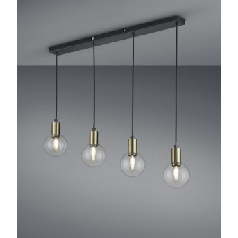 Trio NACHO Pendant Light black, 4-light sources