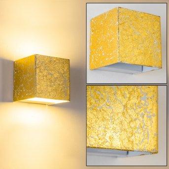 Olbia wall light LED gold, 1-light source
