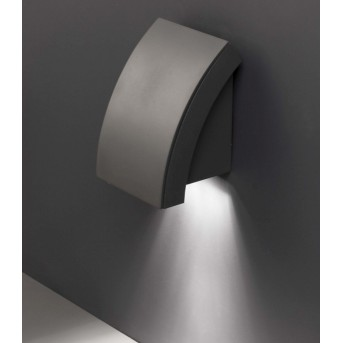 Faro Proa outdoor wall light anthracite, 1-light source