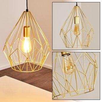 MARANG Pendant Light gold, 1-light source