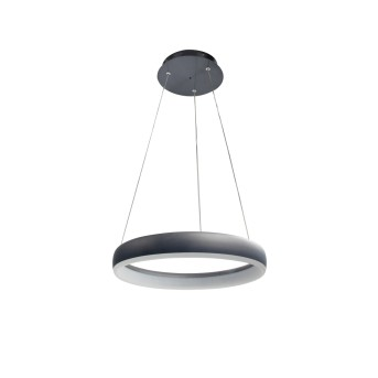 WOFI CLINT Pendant Light LED black, 1-light source, Remote control
