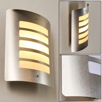 ALSLEV Outdoor Wall Light stainless steel, 1-light source