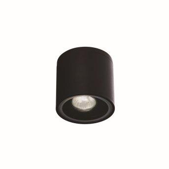 Ideal Lux GUN Outdoor Wall Light black, 1-light source