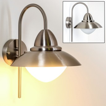 Gielas Outdoor Wall Light stainless steel, 1-light source