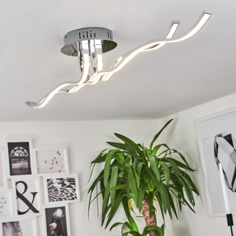 Corato ceiling light LED chrome, 1-light source