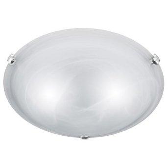 Trio 6105 ceiling light matt nickel, white, 2-light sources