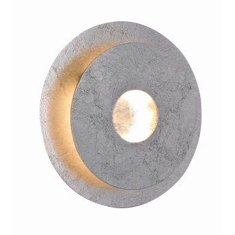 WOFI AFIR Wall Light LED silver, 1-light source