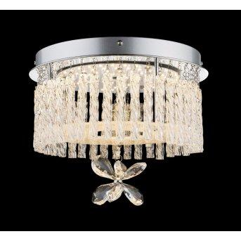 Globo ceiling light LED chrome, 1-light source